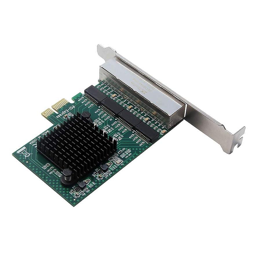 ステッチ配置ラッカスB Baosity PCI-E X1?4Portギガビット LANイーサネット ネットワーク カードアダプタボード 1000Mbps
