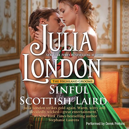Sinful Scottish Laird audiobook cover art