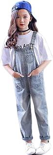 PanpanBox - Pantalones Vaqueros para niña, Estilo Retro, con Bolsillos, de 3 a 12 años