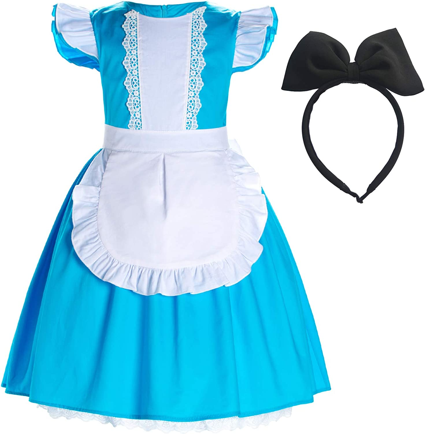 Party Chili Max 45% OFF Cotton Princess Costume Girls Dress Some reservation for Up Toddler