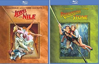 Romancing The Stone / Jewel Of The Nile Michael Douglas Kathleen Turner Double Feature