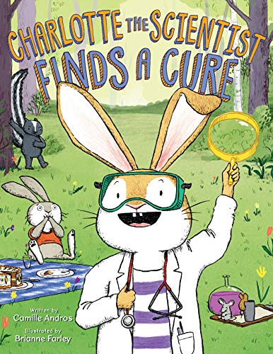 Image of Charlotte the Scientist Finds a Cure