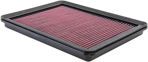 K&N engine air filter, washable and reusable:  2012-2019 Hyundai/Kia (Santa Fe, Sorento) 33-2493