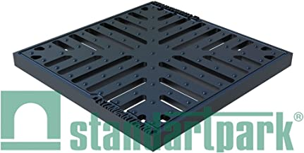 Standartpark - Ductile Cast Iron Grate to fit 12x12 Catch Basin. C Class Load rated.