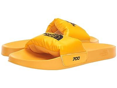 The North Face Nuptse Slide (TNF Yellow/TNF Black) Men