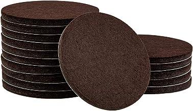 softtouch 4723895N Almofadas de feltro para móveis resistentes de 7,62 cm para proteger pisos de madeira de arranhões, mar...