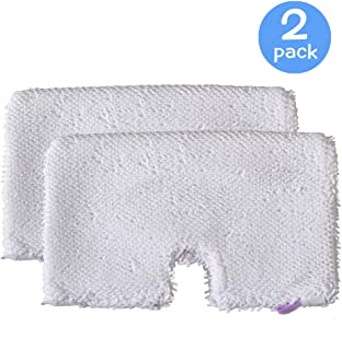 2 Pcs Microfiber Replacement Cleaning Pads for Shark Steam Pocket Mops S3500 Series,S2901,S2902,S3455K,S3501,S3550,S3601,S3801,S3801CO,S3901,S4601,S4701,S4701D,SE450
