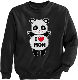 Tstars - ママの日のとてもキュートパンダギフト かわいいパンダギフトママの日に スイートミニパンダプレゼント キッズスウェットシャツ