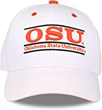 Oklahoma State Cowboys Adult Game Bar Adjustable Hat - White,