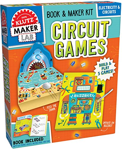 Circuit Games: Maker Lab (Klutz STEM Kit)