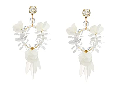J.Crew Mambo Queen Earrings (White) Bracelet