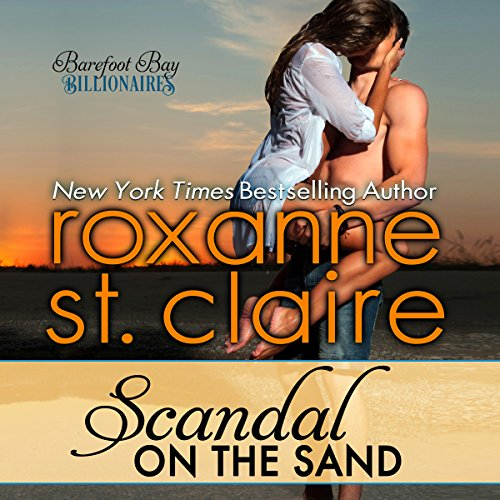 Scandal on the Sand audiobook cover art
