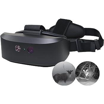 WANNEY Tracker Night Vision Goggle Binoculars Water-Resistant Optics Near-Infrared Illuminator for Wildlife Viewing, Hunting, Surveillance