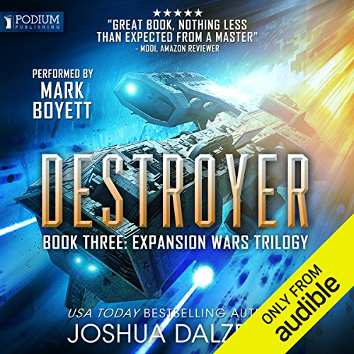 Destroyer audiobook cover art