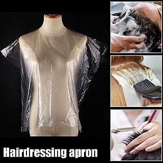 DreamGirl Hairdressing Salon Hair Cape Crinkle Tessuto.
