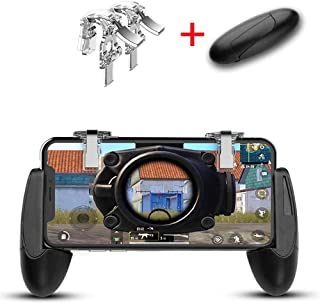 Mobile Game Controller for PUBG Mobile Triggers Button Sensitive Shoot and Aim Touch Key L1R1 for Fortnite/Critical Ops/Rules of Survival Cell Phone Game Controller for Android iOS