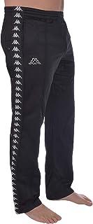 Kappa Mens 222 Banda Astoria Snaps Retro Tracksuit Pants
