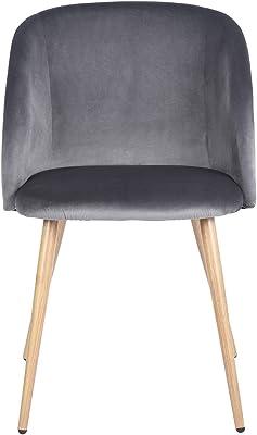 Amazon.com: House in Box - Juego de 2 sillones de comedor ...