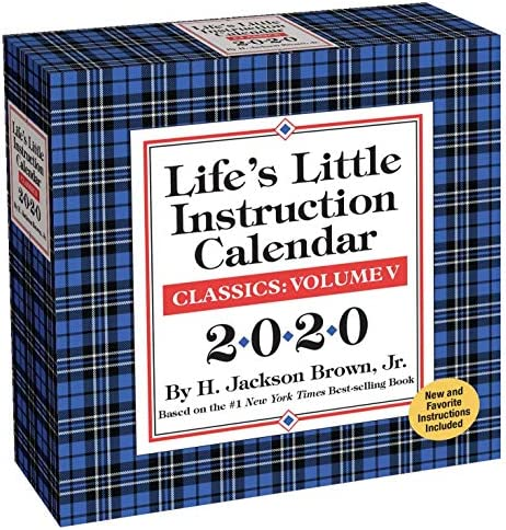Life s Little Instruction 2020 Day to Day Calendar product image