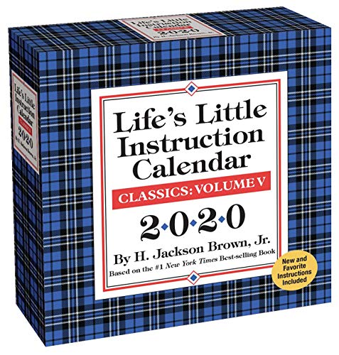 Life's Little Instruction 2020 Day-to-Day Calendar