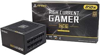 مزود الطاقة بقوة 850 واط من Antec مع كابلات ATX معيارية بالكامل ذهبية