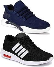 Shoefly Men's Running Shoes (Set of 2 Pairs)