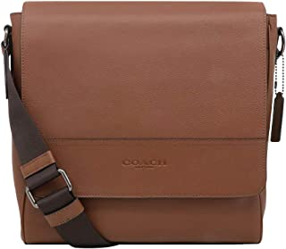 Coach Men's Houston Map Messenger Bag in QB Saddle, Style F68015