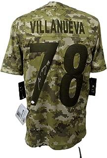 Alejandro Villanueva Autographed Jersey - Camo Salute to Service 143017 - JSA Certified - Autographed NFL Jerseys