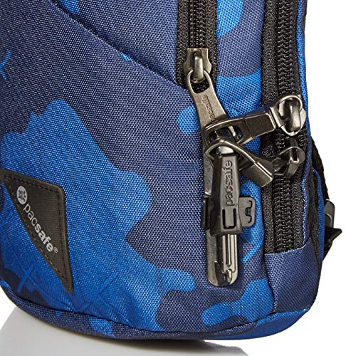 Pacsafe Vibe 150 2.2L Liter Anti Theft Crossbody Pack, Grey Camo