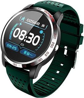 SAHWIN® Pulsera Fitness, Reloj Inteligente Impermeable IP67 Pulsera Actividad, Deportivo Reloj Fitness con Pantalla Táctil Completa Pulsómetro, Monitor De Sueño, para Hombres Y Mujeres,Verde