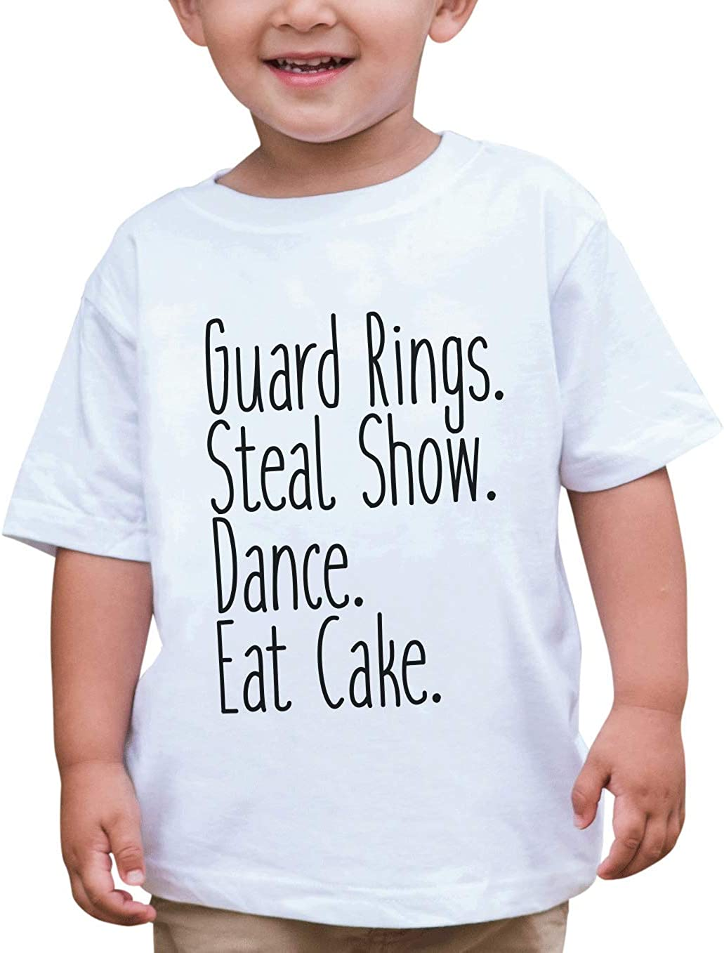 7 ate 9 Apparel Toddler Boy's Funny Ring Bearer Wedding T-Shirt
