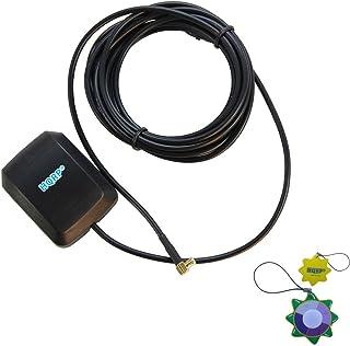 HQRP Antena Externa GPS amplificada 1575.42 MHz de Montaje magnético para Tomtom Go 510 (510) / Tomtom Go 700 / Tomtom Go ...