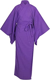 KYOETSU لباس كيمونو ياباني للمرأة ناجوبان كول باس قابل للغسل