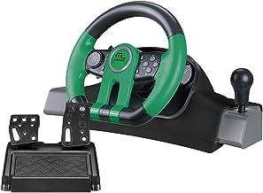Multilaser JS077 Volante 2 em 1 Xbox One e Pc com Marcha Acoplada, Preto