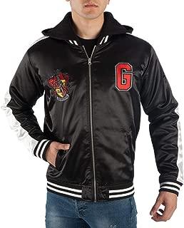 Harry Potter Gryffindor Satin Zip-up Hoodie Jacket
