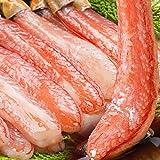 食の達人森源商店 太脚棒肉100% お刺身で食べられる プレミアムずわい蟹ポーション 1kg (25本×2)