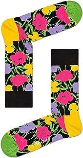 Happy Socks x Andy Warhol Unisex Limited Edition Flower Socks (One Pair)