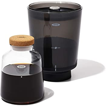 OXO BREW コールドブリュー 濃縮コーヒーメーカー お湯を加えてホットコーヒーにも