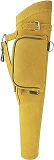 Allness Inc Archery Quiver Hip Side Arrow Holder Spirit Leather Made Light Weight Adjustable Comfortable