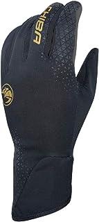 Chiba BioXCell Light Winter Fahrrad Handschuhe schwarz/goldf