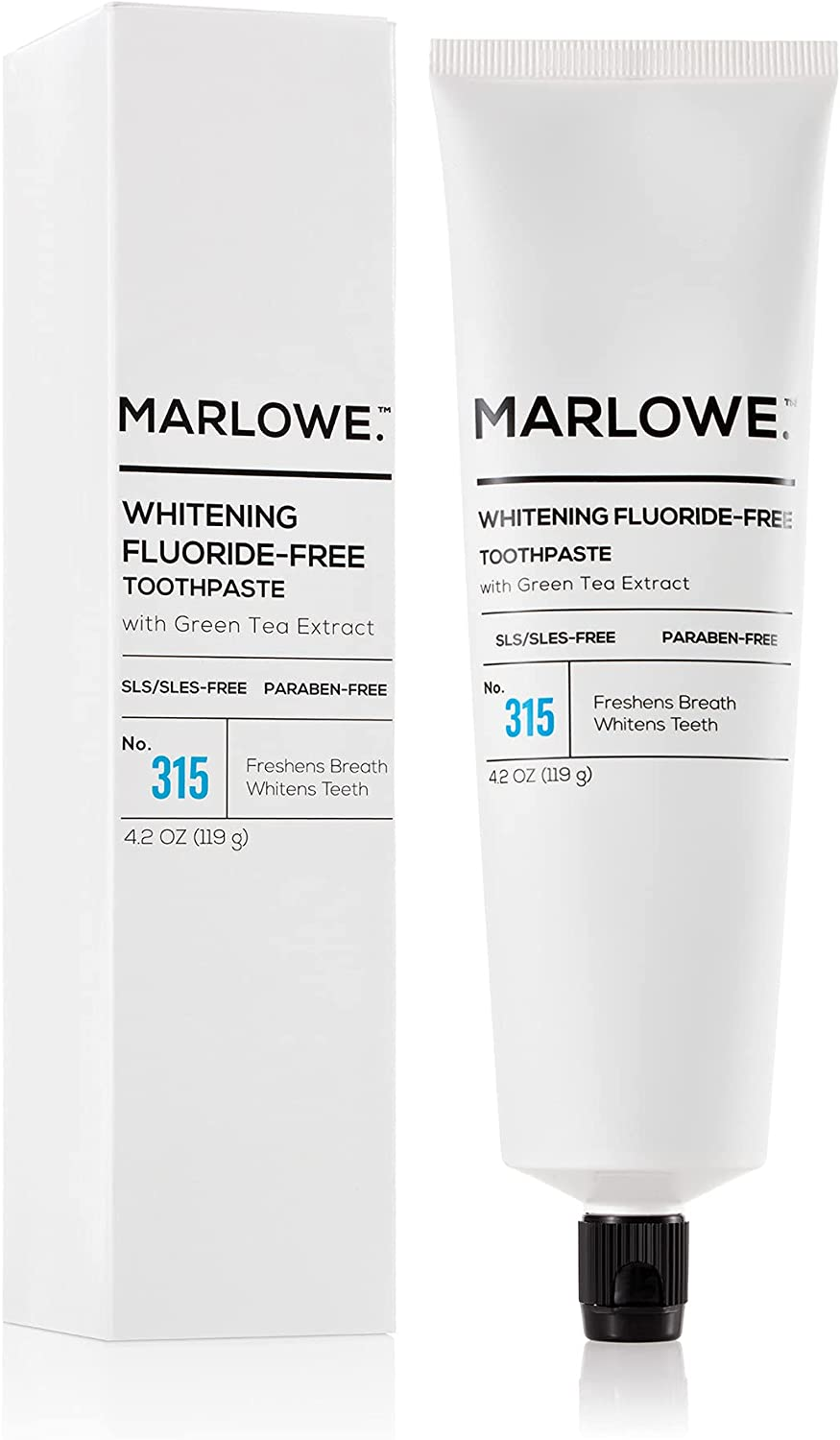 Marlowe. No. 315 Whitening Fluoride-Free Limited time sale Toothpaste Nippon regular agency 4.2oz Ma