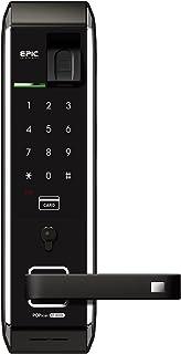 EPIC 電子錠 EF-8000L 3 ハンドル付き 解錠方法:暗証番号/指紋認証/Mifare ICカード(taspo使用可)