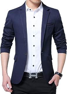 Men's Slim Fit Suits Casual Wear Blazer Jacket
