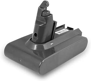 Tattu 2200mAh Replacement Battery for Dyson V6 595 650 770 880 DC58 DC59 DC61 DC62 Animal DC72 DC74 Series Cordless Handhold Pet Version Vacuum