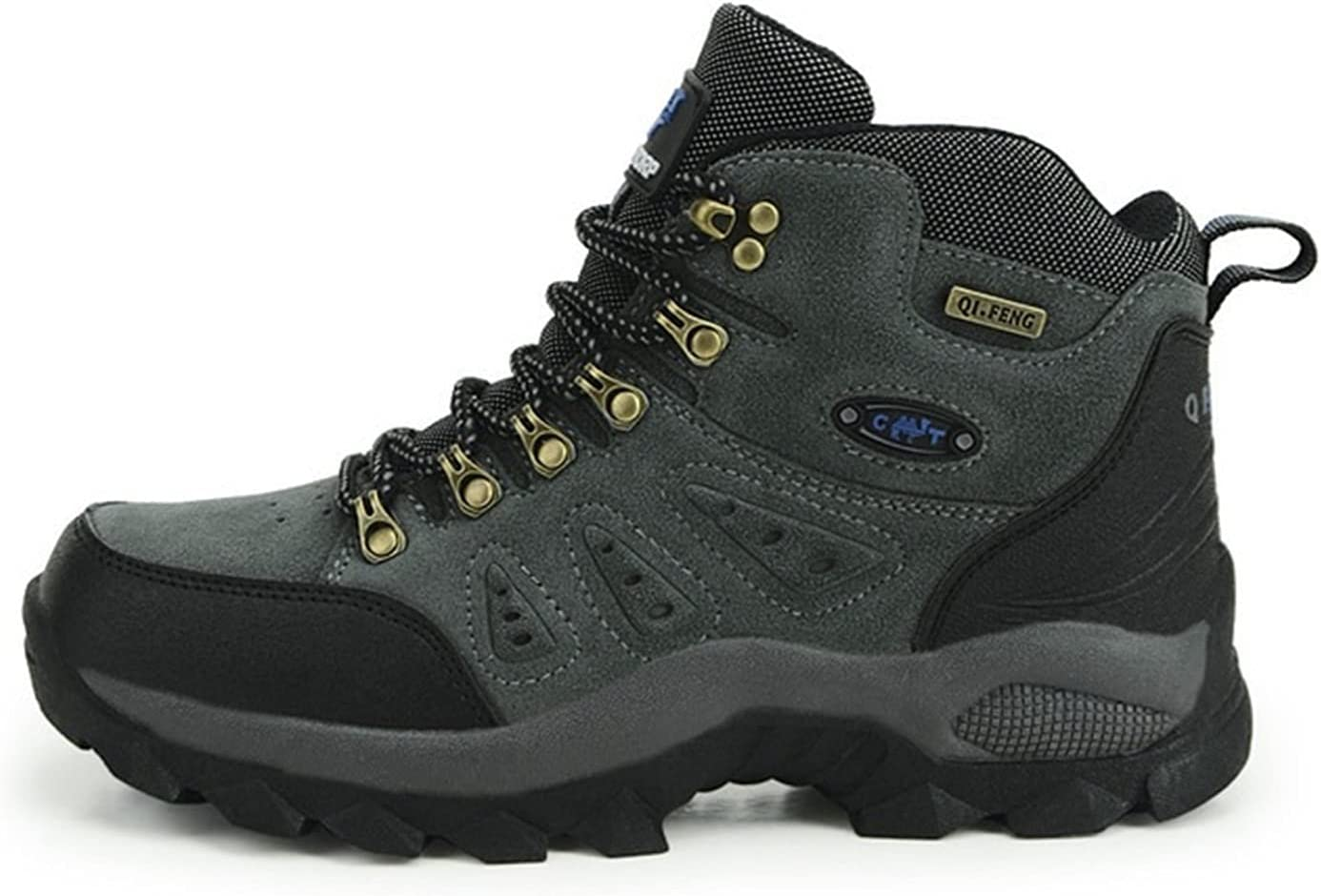High material HUIXUJPN Max 40% OFF Classic Pro-Mountain Ankle Couple Hiking Boots MenWomen