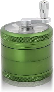 DCOU Grinder Molinillo Manual con Manivela de Aluminio