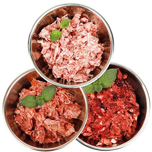 Barf-Snack Frostfutter - Sparpaket 28kg mit Rind & Ente Hundefutter/Katzenfutter/Gefrierfutter