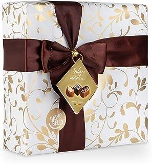 comprar comparacion Marca Amazon - Happy Belly Selección de bombones de chocolate belga 500g