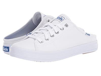 Keds Kickstart Mule Core Canvas (White) Women