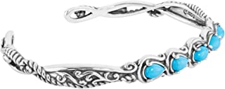 vintage silver and turquoise bracelet